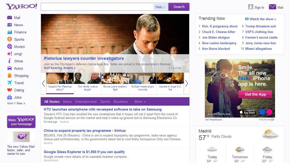 Yahoo! supera a Google en número de visitas por primera vez en cinco años