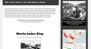 """We still have a dream"", proyecto digital para recuperar el discurso de Martin Luther King"